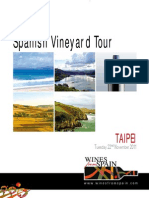 Spanish Vineyard Tour 2011 - Catalogue