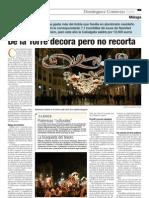 Luces de Navidad, Málaga