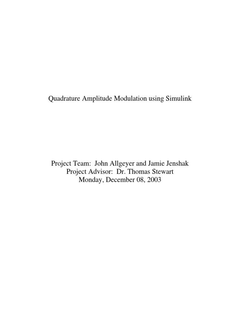 QAM | Modulation | Digital Signal Processing