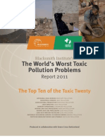 Worlds Worst Toxic Pollution Problems 2011 Report