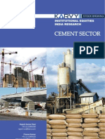 Cement Sector Analysis Report Karvy