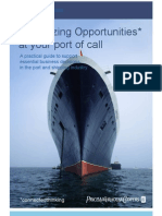 Maximizing Opportunities at Your Port of Cal PwC