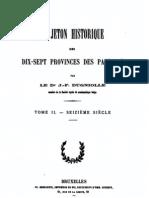 Le jeton historique des dix-sept provinces des Pays-Bas. T. II