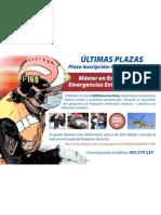 Máster Emergencias Extrahospitalarias en Enfermería. CECOVA-Universidad de Alicante-Aula Salud