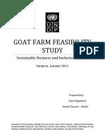 Goat Farm Feasibility Study
