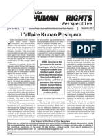J&K Human Rights Perspective, Sep-Oct 2011