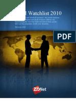 CRM Watch List 2010