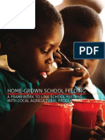 Home-grown School Feeding - A Framework to Link School Feeding With Local Agricultural Production
