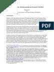 Business Density,Entrepreneurship and Economic Well Being
