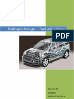 Hydrogen Storage in Fuel Cell Vehicles