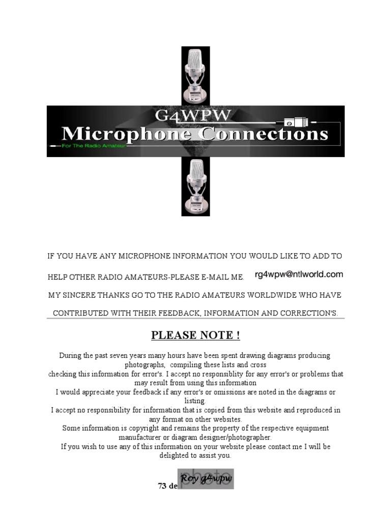 microphone connectors rh pt scribd com