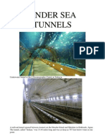 Under Sea & Mountain Tunnels1