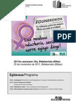 20111125 Indarkeria en Kontrako Eguna