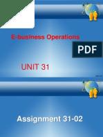 Unit 31 Assignment 2