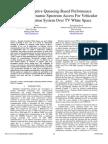 Dynamic TV Spectrum Access, Vehicular Communication