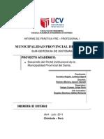 Informe Practicas Pre Profesionales121062011