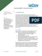 Digital Signal Processing (DSP) in Oscilloscopes