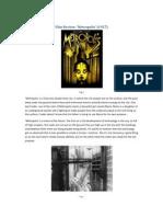 Film Review Metropolis