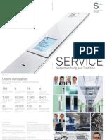 S+S Service Broschuere 2011 Doppelseiten Screen