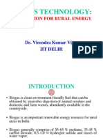 Biogas Technology