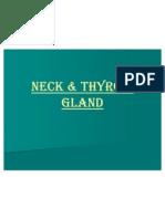 Neck & thyroid gland د.رامز الأسودي
