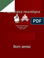 Aula 1 e 2 - Propedêutica neurológica