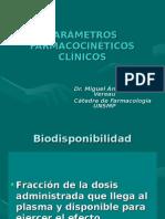 Ts01 ParÁmetros FarmacocinÉticos ClÍnicos