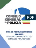 Guia Recomendaciones Policia