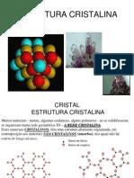 A ESTRUTURA DOS SÓLIDOS CRISTALINOS2