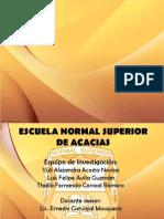 Diapositivas de La Ponencia Final
