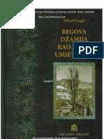 Nihad Čengić - Begova džamija kao djelo umjetnosti