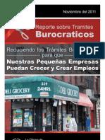Reduciendo los Trámites Burocráticos para que Nuestras Pequeñas Empresas Puedan Crecer y Crear Empleos