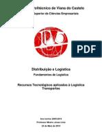 Recursos Tecnológicos aplicados à Logística - Transportes