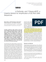 Betaine,DimethylSulfoxide,And7 Deaza dGTP