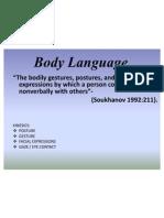 p & Bdy Language
