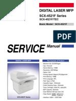 Samsung SCX-4521f Service Manual