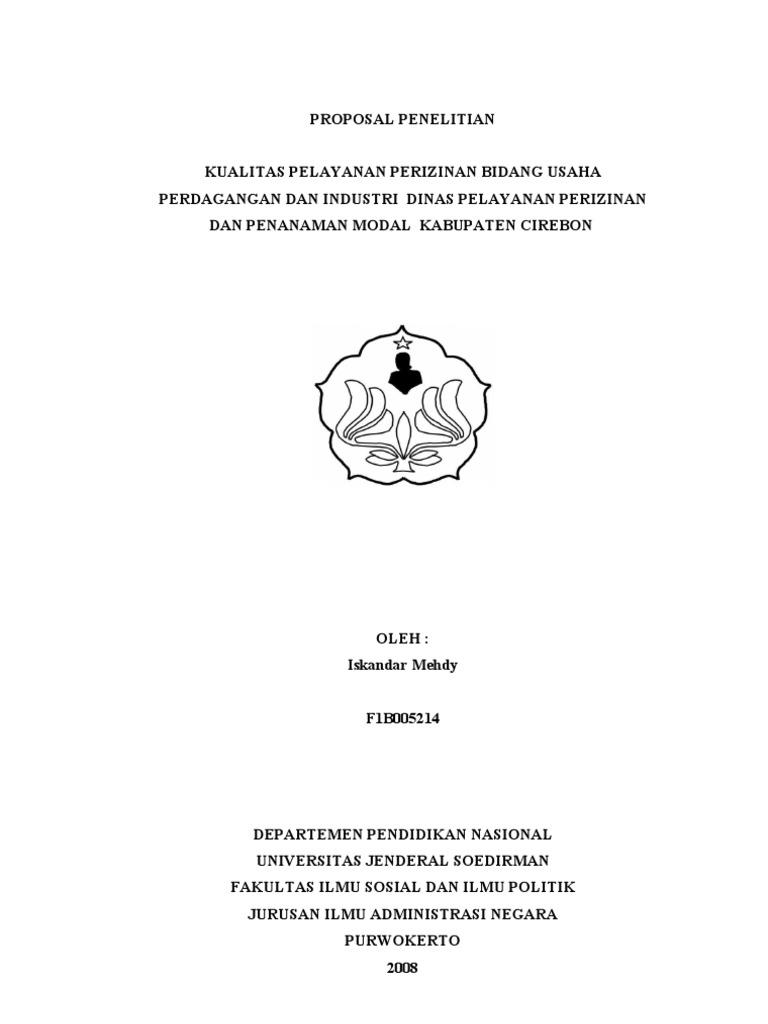 Contoh Judul Skripsi Kualitatif Ilmu Administrasi Negara