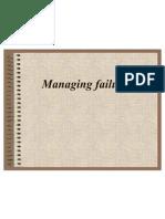 Managing Failures 2