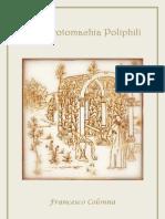 Hypnerotomachia Poliphili - Francesco Colonna