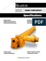 Crane Source - Crane Specs & Beam Sizes