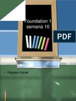 Foundation 1sem 10VLE