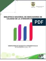 Biblioteca Nacional de Indicadores Junio 2011