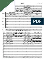 Gloria Vivaldi Full Score