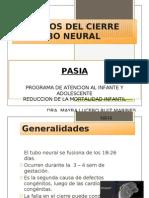 Defectos Del Tubo Neural Pasia Dra. Mayra