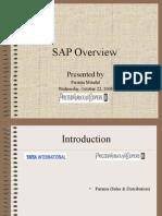 SAP Overview Parama
