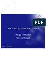 TeamLease Services Private Limited