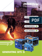 Powerlink small size Generator Sets