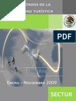 Cifras Prelim in Ares Turismo ENE-NOV-09