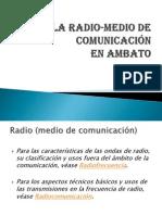 Radio-medio de Comunicacion