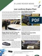 JLR Newsletter - September-October 2011